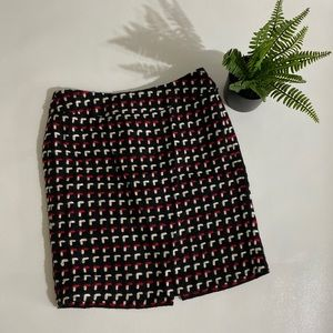 Loft wool mini skirt